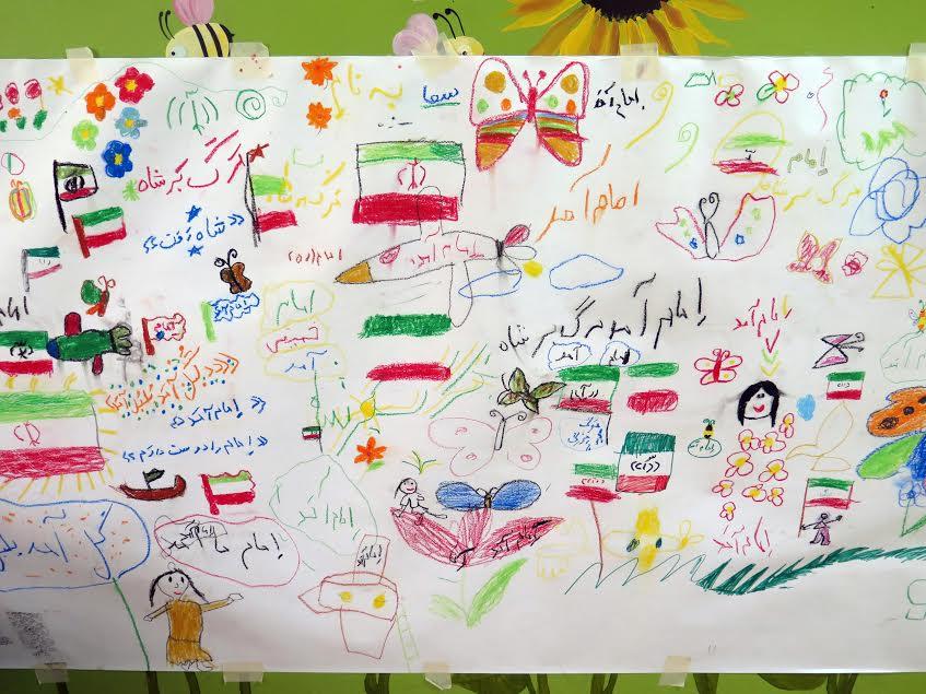 نقاشی دیواری 2